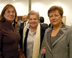 Graciela y Sofia Rosenberg con la Emb. de México en Argentina