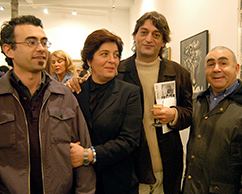 Adriana Rosenberg, Daniel Link, Daniel Molina