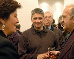 Adriana Rosenberg, Sergio Avello y Luis Córdoba