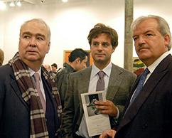 Carlos Franck, Ludovico Rocca, Luis Betnaza