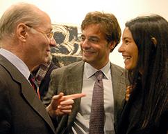 Paolo Rocca, Ludovico Rocca y Sra.