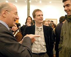Paolo Rocca, Willy Goldschmidt, Enrique Bellande