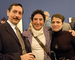 Juan Carlos Pereda, Orly Benzacar, Cecilia Rabossi