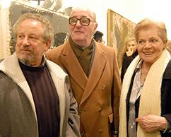 Omar Glezer, José y Sofía Rosenberg