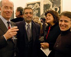 Paolo Rocca, Miguel Frías, Teresa Gowland y Cecilia Rabossi