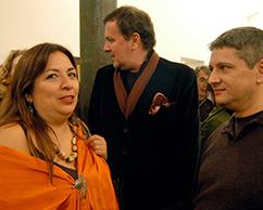 Betsabe Romero, Fernando Espeleta y Sergio Avello