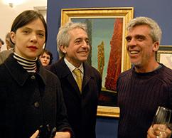 Carla Corsini, Juan José Cambre y Santiago Bengolea