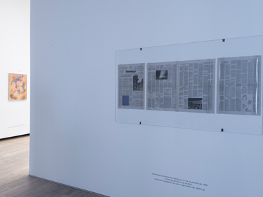 Yves Klein. Retrospectiva. Sala 4