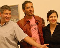 Sergio Avello, Daniel Joglar, Fabiana Barreda
