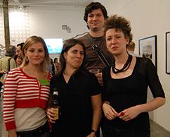 Anabella Ciana, Cecilia Rabossi, Albano García, Florencia
