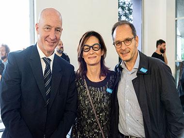 Mark Kent Embajador del Reino Unido en Argentina, Alma Hado y Giuseppe Manzo, Embajador de Italia en Buenos Aires