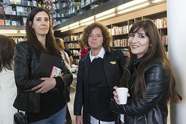 Inés Viturro, Laura Isola, Belén Papa Orfano