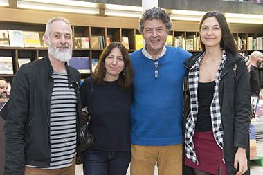 María Mansilla y marido, Juan Pablo Correa y Julieta Correa