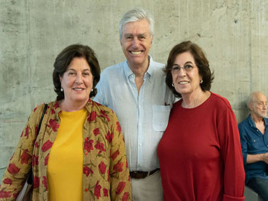Adriana Rosenberg, Lionel Filippi y Graciela Rosenberg