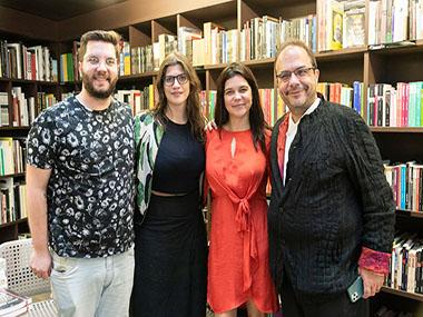 Gabriel Curti, Tarsila Riso, Ana Michelon, Marcello Dantas