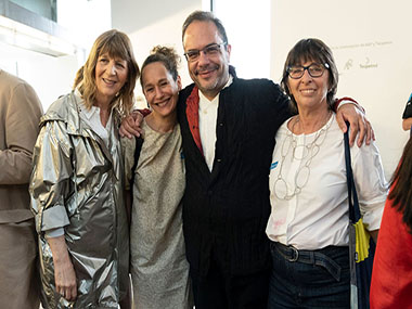 Graciela Smith, Florencia Battiti, Marcelo dantas, Nora Hochbaum