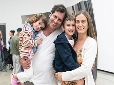 Pablo Zaefferer, Simón y Josefina Zaefferer e Inés
