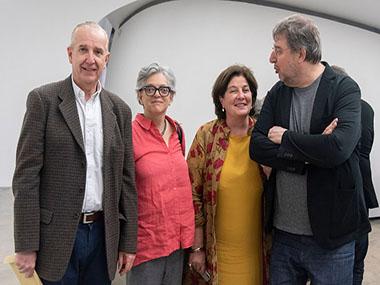 Sergio Baur, Gabriela Rangel, Adriana Rosenberg, Mariano Crusellas