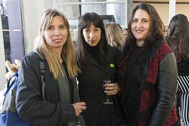 Maren Schiefelbein, Maricel Alvarez, Elizabeth Torres