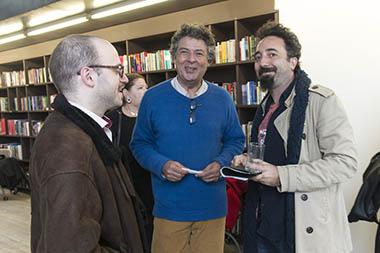 Mariano Vespa, Juan Pablo Correa, Martín Wain