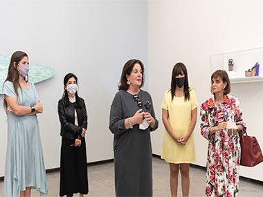 Manuela Otero, María Laura Rosa, Adriana Rosenberg, Cecilia Jaime y Claudia Stadt