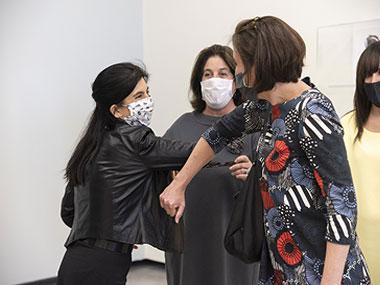 María Laura Rosa, Adriana Rosenberg y Victoria Noorthoorn