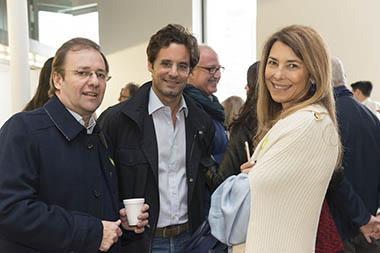 Guillermo Alonso, Lodovico Rocca, Adriana Rocca