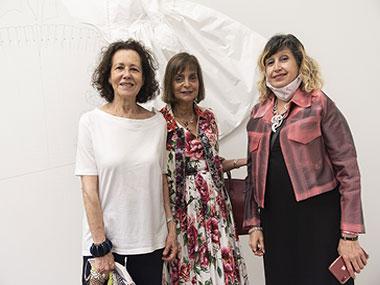 Mini Zuccheri, Claudia Stadt y Patricia Rizzo
