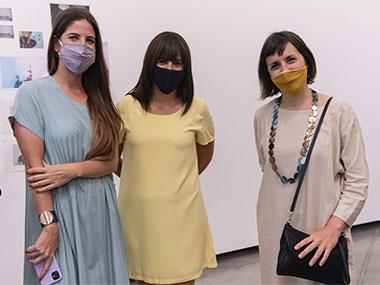 Manuela Otero, Cecilia Jaime y Marcela Sinclair