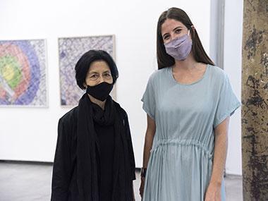 Elba Bairon y Manuela Otero