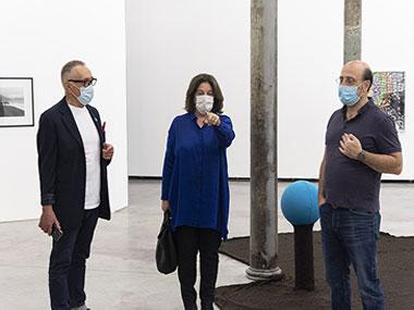 Arturo Carvajal, Adriana Rosenberg y Gabriel Vázquez