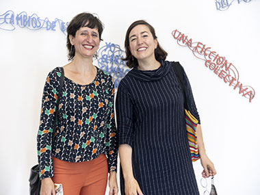Julia Masvernat y Karina Granieri