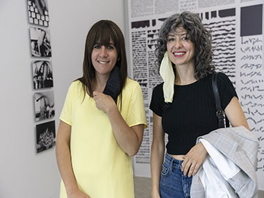 Cecilia Jaime y Elena Dahn