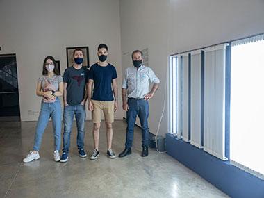 Sergio Paksa y familia