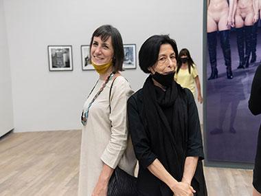 Marcela Sinclair y Elba Bairon