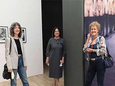 Elena Dahn, Adriana Rosenberg y Teresa Pereda