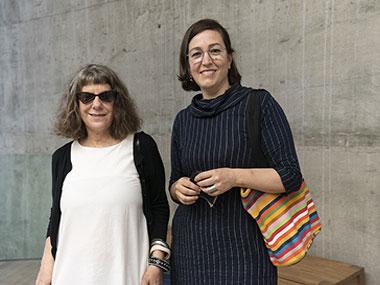 Alicia Herrero y Karina Granieri