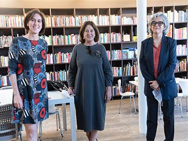Victoria Noorthoorn, Adriana Rosenberg y Gabriela Rangel