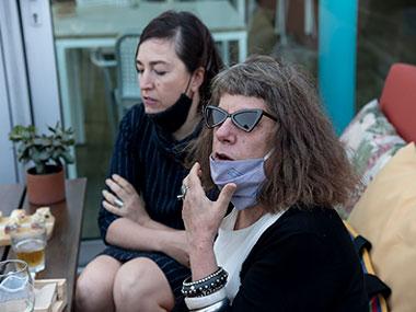 Karina Granieri y Alicia Herrero