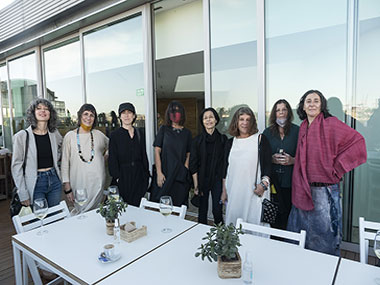 Elena Dahn, Marcela Sinclair, Cecilia Szalkowicz, Gabriela Golder, Elba Bairon, Alicia Herrero, Cristina Schiavi y Gachi Hasper