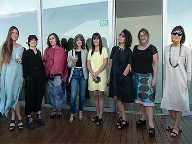 Manuela Otero, Cecilia Szalkowicz, Gachi Hasper, Elena Dahn, Cecilia Jaime, Gabriela Golder, Mariela Yeregui y Marcela Sinclair