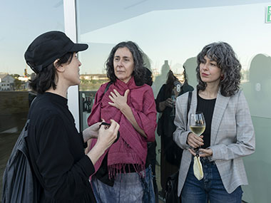 Cecilia Szalkowicz, Gachi Hasper y Elena Dahn