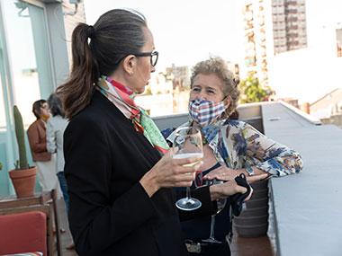 Eleonora Molina y Teresa Pereda