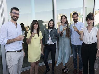 Gastón Solari Yrigoyen, Cecilia Jaime, Camila Villarruel, Manuela Otero, Renzo Longobuco y María Sureda