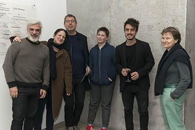 Santiago Bengolea, Mariano Clusellas y familia, Mónica Giron