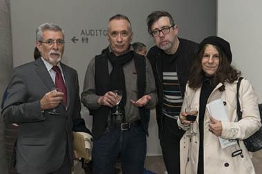 Miguel Frías, Arturo Carvajal, Lux Lindner, Alicia Herrero
