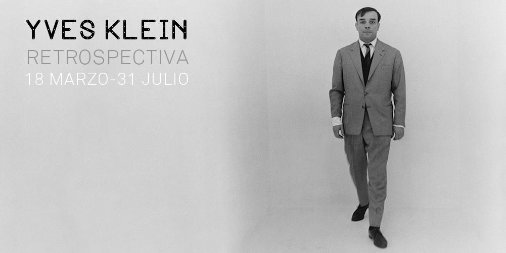 Yves Klein. Retrospectiva
