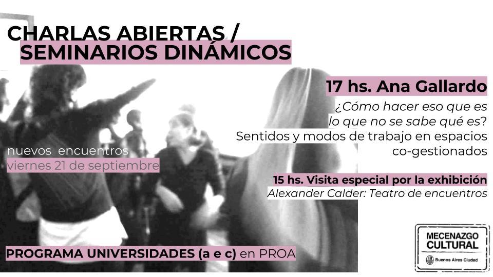 CHARLAS ABIERTAS 2