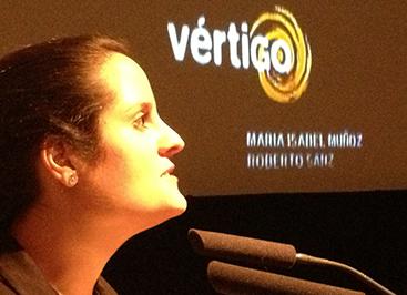 Estefanía Ortiz, productora de la película paraguaya