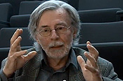Auditorium - PROA TV. Interview with philosopher Herv� Fischer by Rodrigo Alonso. 2nd Part